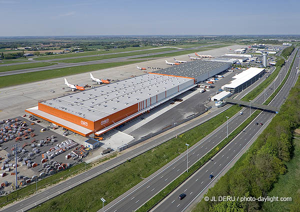 extension du hub TNT à  Liege airport